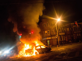 Baltimore Burns: Freddie Gray Protests Turn Violent, Prompting State of Emergency