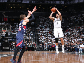 Deron William's 35 Points Lead Nets to Win in Overtime