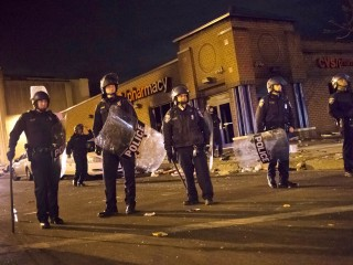 Baltimore Riots: Governor Vows 'Overwhelming Display' of Law Enforcement