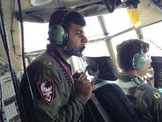 Nepal Earthquake: Pakistan Air Force Crew Caught in Aftershock