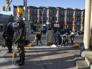 Baltimore Cleans Up After Riots