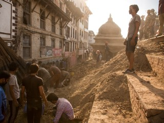 Quake Deals Blow to Nepal's Landmarks and Tourism