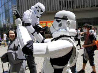 Star Wars Day: Astronauts, Chewbacca and Fans Celebrate