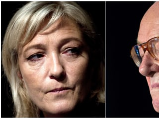 France's National Front Founder, Jean-Marie Le Pen, Disowns Daughter