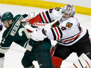 Blackhawks Beat Wild to Go 3-0 in Stanley Cup Playoffs Series