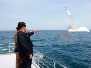 North Korea Submarine Missile Footage Isn't Real, U.S. Admiral Says