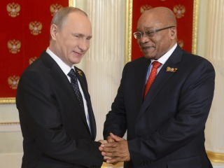 Putin Embarks on 'Bromance' With African Leader