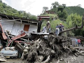 Colombia Landslide Kills More Than 50, Injures Dozens