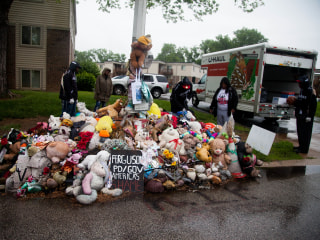 Iconic Michael Brown Memorial Torn Down