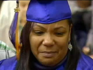 Mom Graduates in Son's Place After Fatal Crash