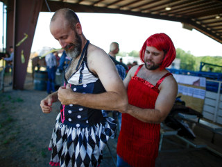 Gay Rodeo Rocks Hotbed of Rights Fight