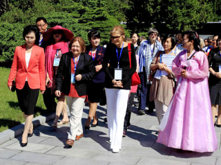 Gloria Steinem's WomenCrossDMZ Korea Peace March Cancels Symbolic Crossing