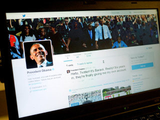@POTUS, Obama's Twitter Debut, Faces Racist Backlash
