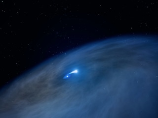 Cosmic Cannibal: Massive 'Nasty' Star Observed by Hubble Telescope