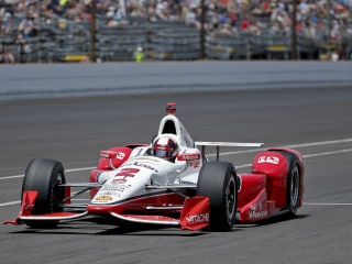 Juan Pablo Montoya Wins the 99th Running of Indianapolis 500