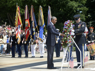 Obama Says in Memorial Day Speech That U.S. 'Can Never Fully Repay' Debt to the Fallen