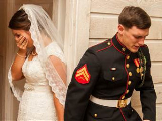 Couple Shares Story Behind Viral Wedding Photo