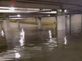 Houston Flooding Strands Workers at The Galleria Mall