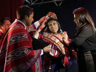 First 'Miss Indigenous Ecuador' Is Crowned