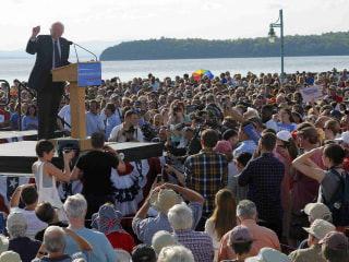 Bernie Sanders: Campaign Will be 'A Movement of Millions'