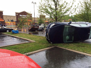 Injuries and Damage as Tornado Tosses Cars in Ohio