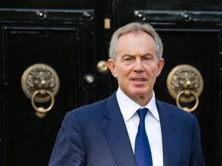 Tony Blair Stepping Aside as Special Envoy on Israel and Palestinians