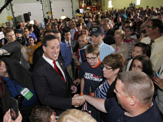 Rick Santorum Begins Second Underdog Presidential Campaign