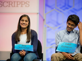 'Nunatak': National Spelling Bee Ends in Tie for 2nd Year in a Row