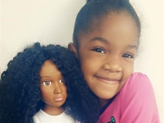 She Couldn't Find Dolls That Looked Like Daughter So She Made One
