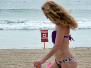 California Beaches Reopen After Tar-Ball Cleanup