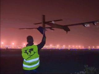 Solar Impulse Plane Takes Off on Six-Day, Sun-Powered Pacific Marathon