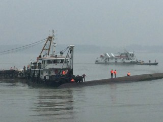 Boat With More Than 450 People Sinks in China's Yangtze