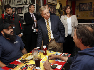 Lindsey Graham Talks Foreign Policy and Bill Clinton with NBC's Chuck Todd