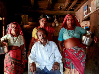Indian Men Take on 'Water Wives' to Survive Drought