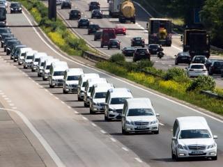 Convoy Brings Home 15 Teens Killed in Germanwings Crash