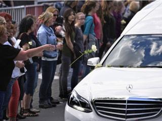 Hearses Carry Home Teens Killed in Germanwings Crash