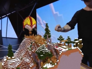 Microsoft Shows Off New 'Minecraft' Built for Virtual Reality