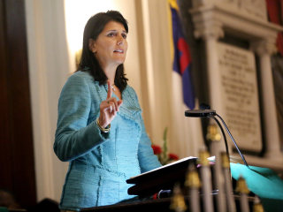 South Carolina's Nikki Haley to Deliver State of the Union Response