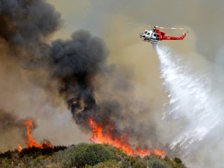 500 Homes Evacuated Near California Wildfire