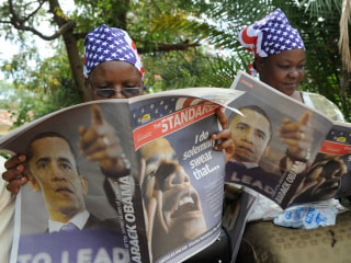 Kenya Spends $2M to Beautify Country for Obama's Visit