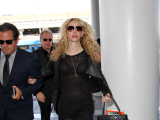 Courtney Love Tweets She Was 'Ambushed' in Paris Uber Protest