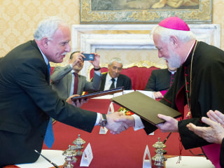 Vatican Treaty Recognizes a Palestinian State