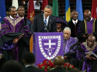 President Obama Delivers Eulogy for Rev. Clementa Pinckney