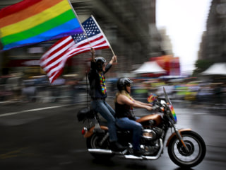 Even Prouder: Gay Pride Parades Celebrate Court Ruling