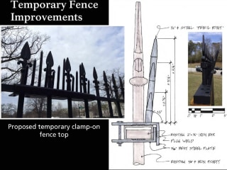 To Slow Jumpers, White House Fence Getting Spikier Spikes Tomorrow