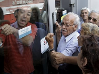Greece's Financial Meltdown Sparks ATM Panic