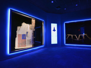 Wreckage From Space Shuttles Challenger and Columbia Go on Display