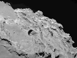 Rosetta Spacecraft Might Have Found Sinkholes on Comet