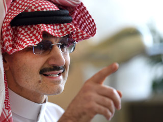 Saudi Prince Alwaleed bin Talal Vows to Donate $32 Billion to Charity