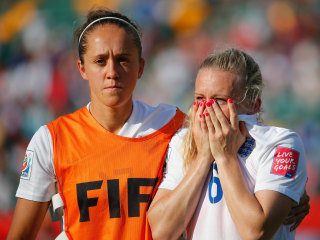 England Knocks Itself from Women's World Cup on Late Own Goal